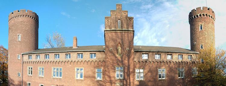 Westflügel der Burg Kempen