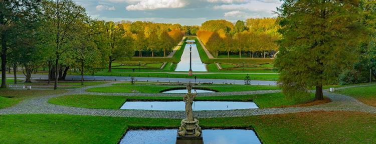 Historische Gartenanlagen in Kleve