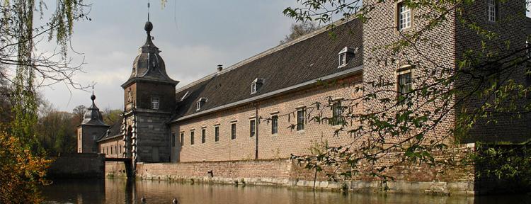 Vorburg des Schlossparks Heltorf