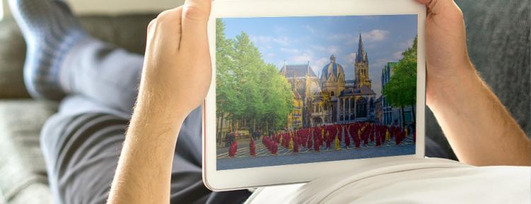 Virtuelle Rundgänge in NRW