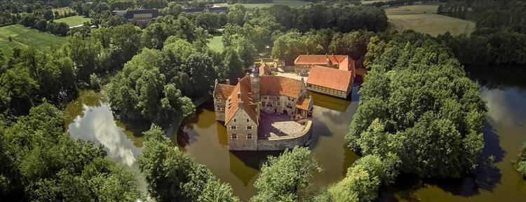 Luftaufnahme Wasserburg Vischering